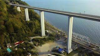 DJI Phantom. Самый высокий мост в России