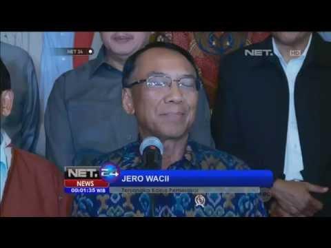 Jero Wacik Berjanji Tak Akan Melarikan Diri Usai Ditetapkan KPK Sebagai Tersangka -NET24