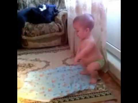 CUTE LITTLE MUSLIM CHILD PRAYING