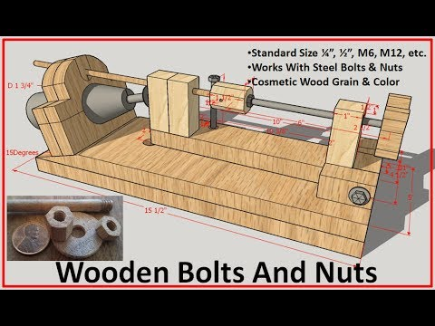 Wood Bolts And Nuts