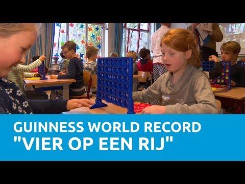 """Pure Energie vestigt een Guinness World Record """"Vier op een rij""""!"""