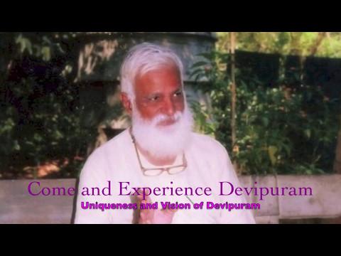 Guruji Amritananda on the Uniqueness and Vision of Devipuram