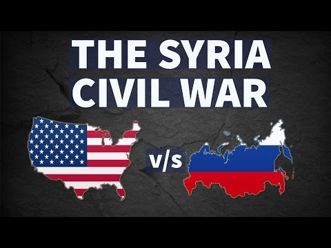 The Syrian War, अमरीका और रूस के बीच घमासान - UPSC/IAS/PSC