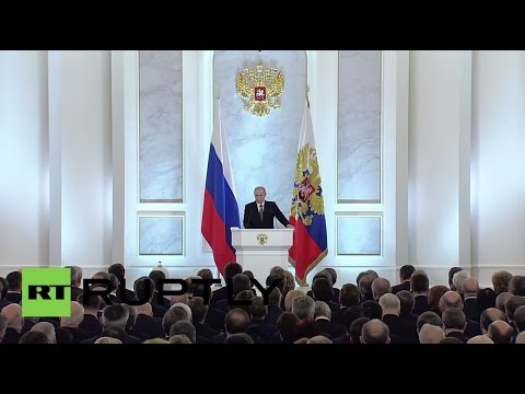 LIVE: Putin delivers state-of-the-nation address - Original audio