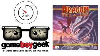 Dragon Island (Allegro 2-min) Review with the Game Boy Geek