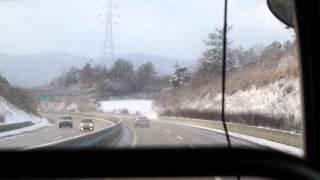 무안-광주 고속도로 서광산IC~나주IC~노안터널 (Muan-Gwangju Expressway W,Gwangsan IC~Naju IC~Noan Tunnel) (1080p)