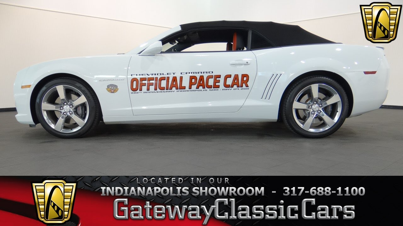 2011 Chevrolet Camaro Pace Car   Gateway Classic Cars Indianapolis   #412NDY