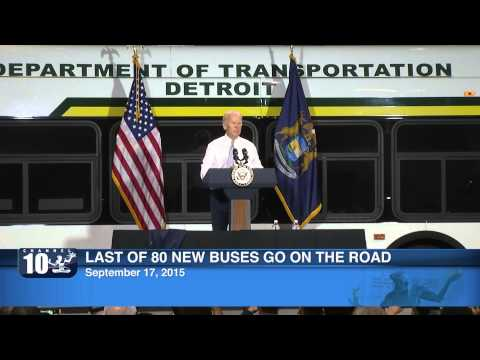 Press Conference:  DDOT Makes Full Pull Out With New Buses - Sept. 17, 2015