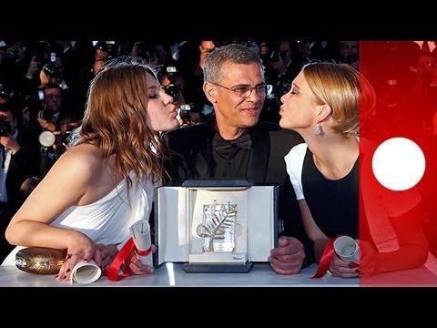 """""""La Vie d'Adèle"""" wins Palme d'Or at Cannes Film Festival"""