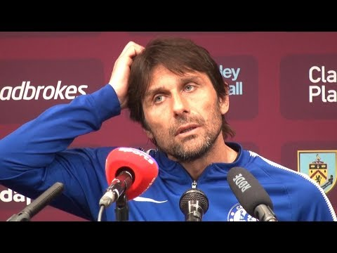 Burnley 1-2 Chelsea - Antonio Conte Full Post Match Press Conference - Premier League
