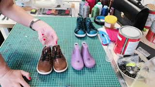 Детская обувь своими руками! Это возможно! ;)