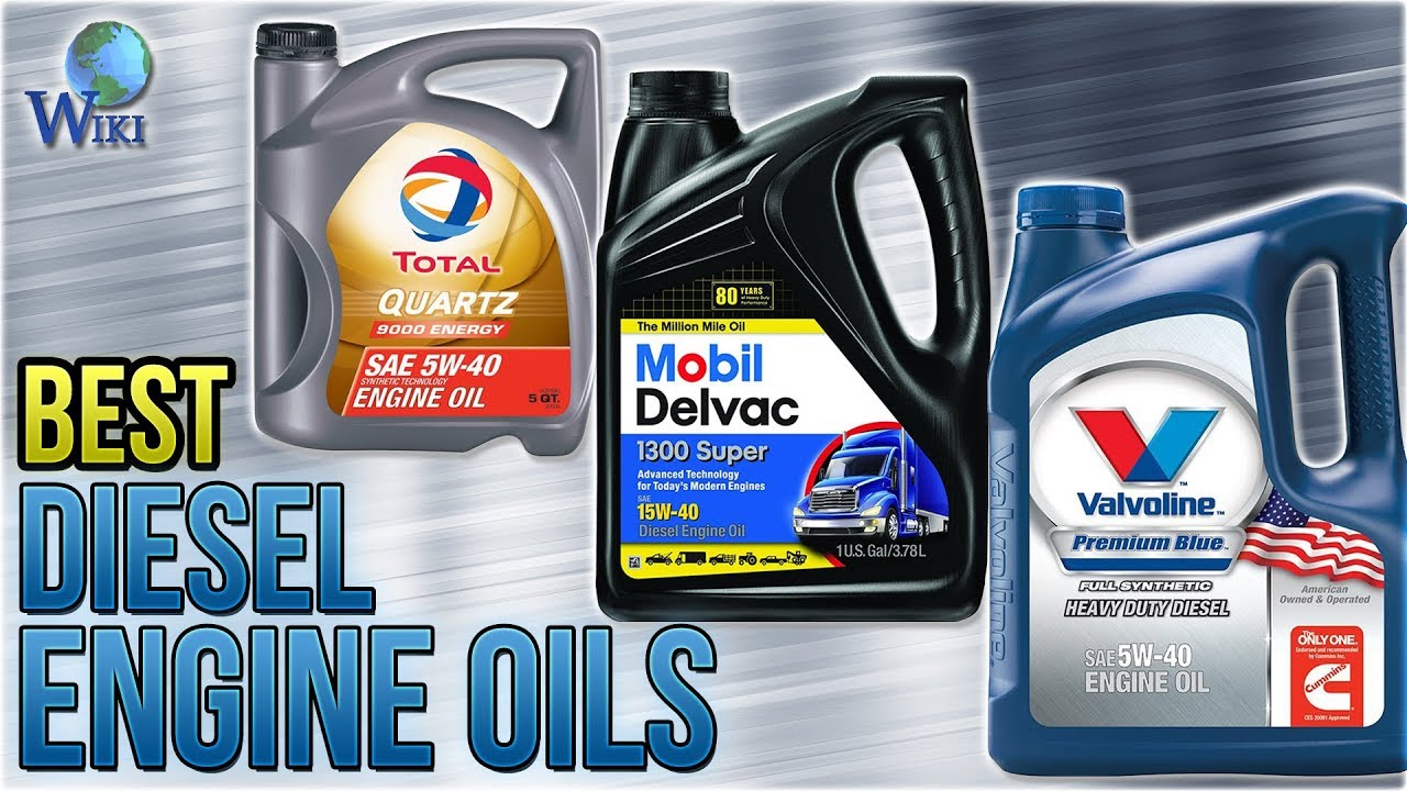 9 Best Diesel Engine Oils 2018
