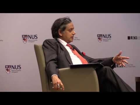 [Q&A] Shashi Tharoor: Pax Indica - India in the World of the 21st Century
