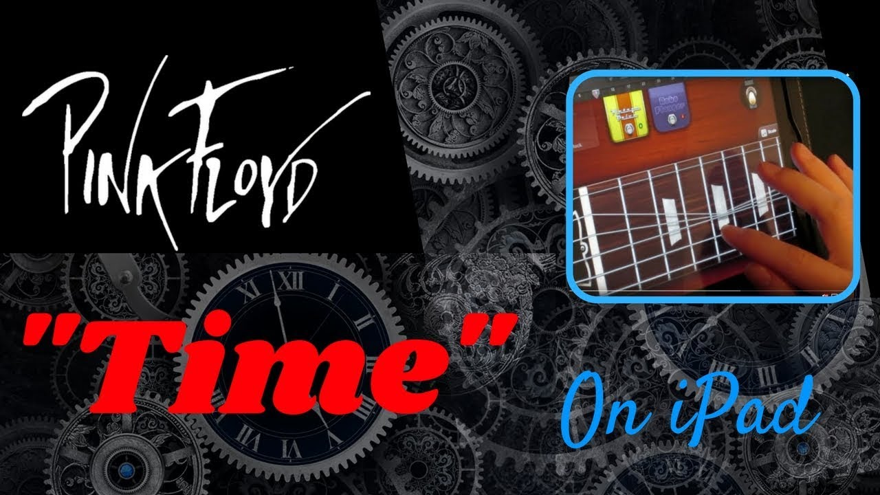 pink floyd time guitar solo using ipad youtube. Black Bedroom Furniture Sets. Home Design Ideas