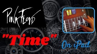 """Pink Floyd - """"Time"""" Guitar Solo (using iPad)"""