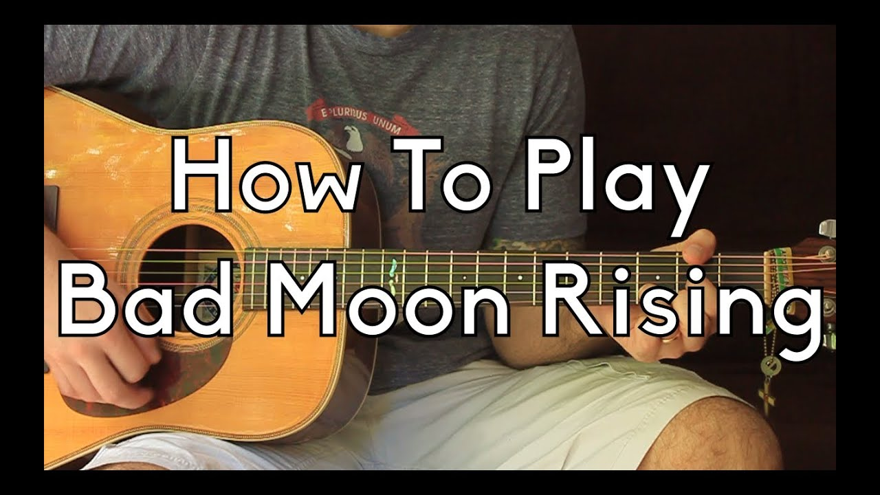 Guitar Lessons: Bad Moon Rising (Made Easy)