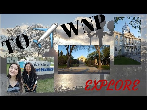 "Travel vlog #1: ""Exploring"" Winnipeg!"