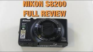 Nikon Coolpix S8200 Digital Camera Review