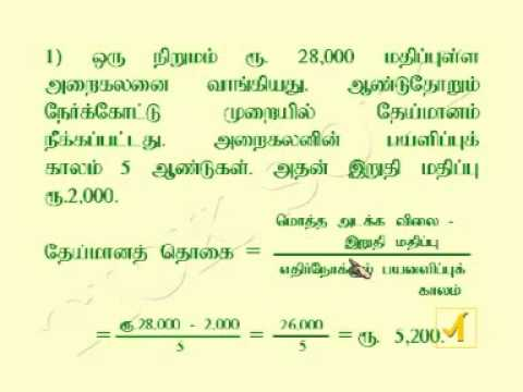 Accountancy 12th tamil youtube malvernweather Image collections