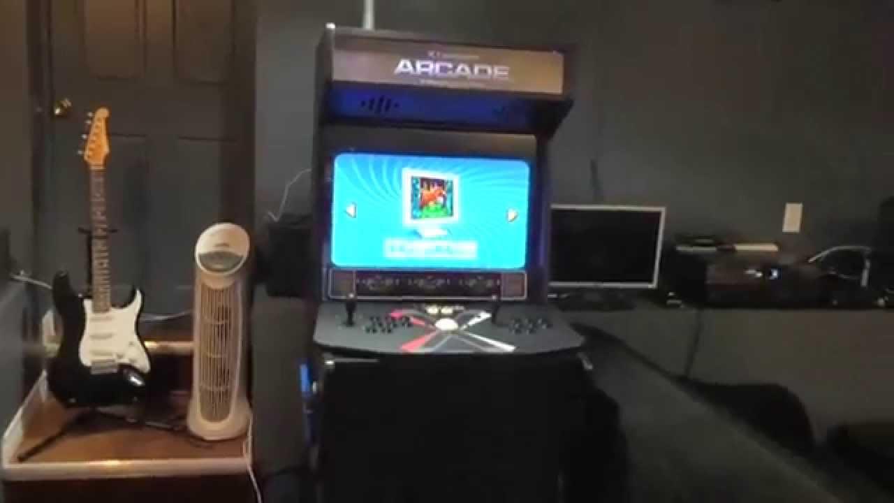 Custom Built Arcade Machine Xtension Xl From