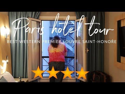 Best Western Premier Louvre Saint-Honore | Paris Hotel Review & TOUR