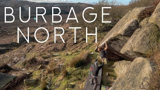 Power Session at Burbage North with Tom and Joe from Bouldering Bobat!!