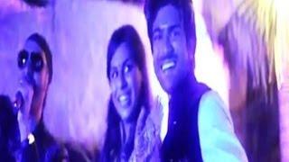 Chiru - Venkatesh - Allu Arjun Dance at Ram Charan Engagement