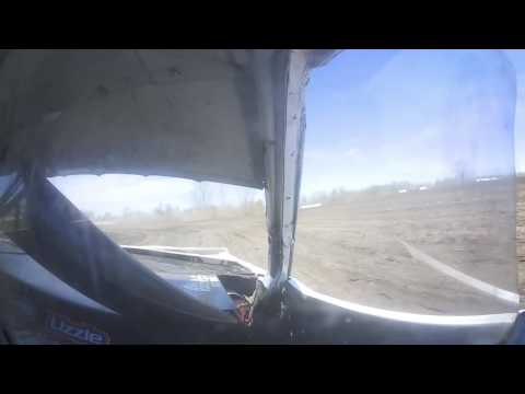 #38 Hobby Stock, Dylan Fitzpatrick test and tune -- Rapid Speedway