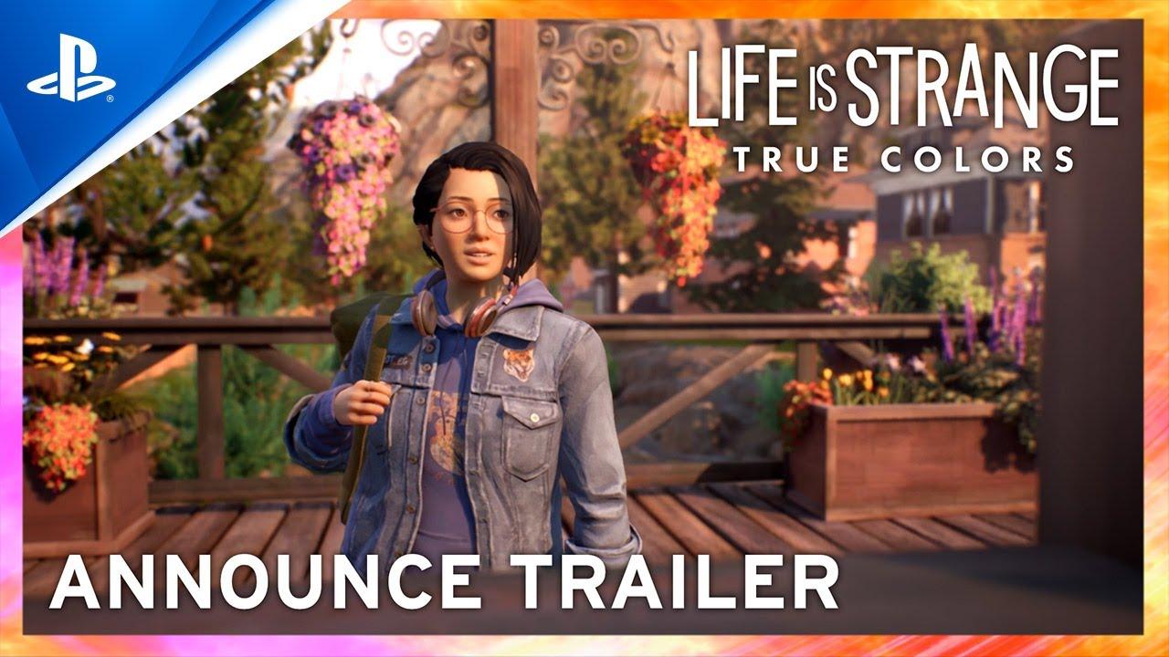 Life Is Strange True Colors launch trailer PS4 & PS5