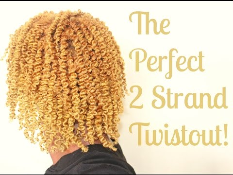 Natural Hair | Perfect Twist Out Using 2 Strand Twists