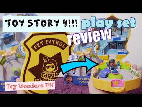 TOY REVIEW: Toy Story 4 Officer Giggle McDimples Pet Patrol Playset