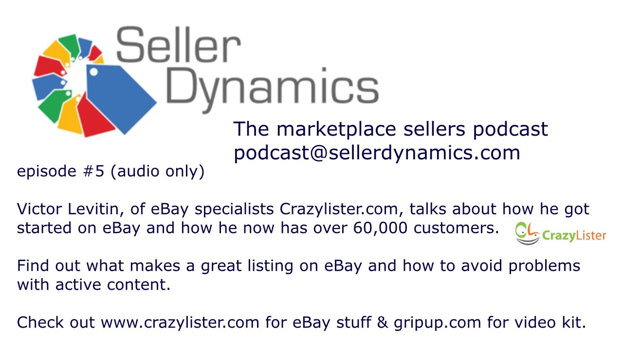 Podcast - the regular podcast from Seller Dynamics