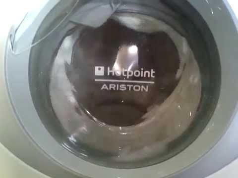 hotpoint ariston aqsl 109 white cotton 40 c youtube. Black Bedroom Furniture Sets. Home Design Ideas