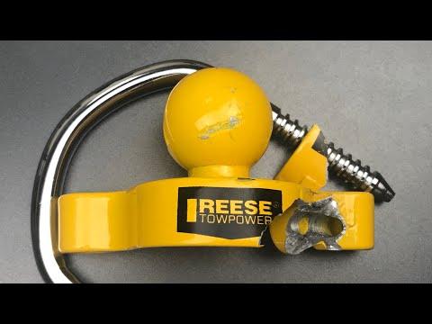 [660] Ramset vs. Reese Trailer Coupler Lock