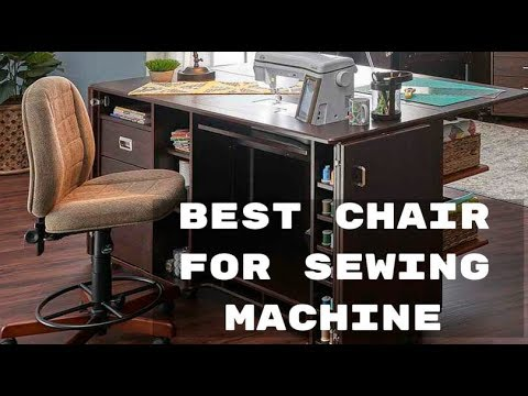 Best Chair For Sewing Machine Top Back Support Chair Youtube