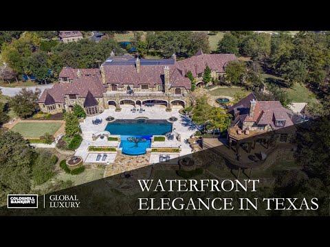 Waterfront Elegance in Texas