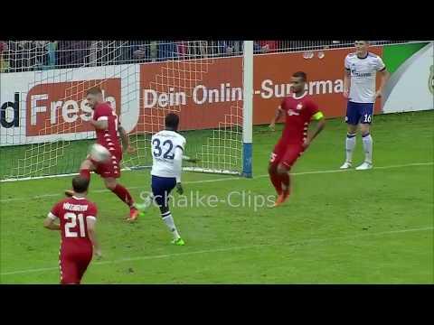Schalke - Baku 1:0 Goal Bernard Tekpetey (HD)