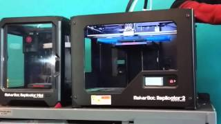 3D Desktop Printer Review MakerBot Replicator 2X