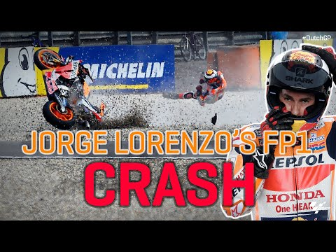 Worst possible Assen start for Lorenzo after fast FP1 crash