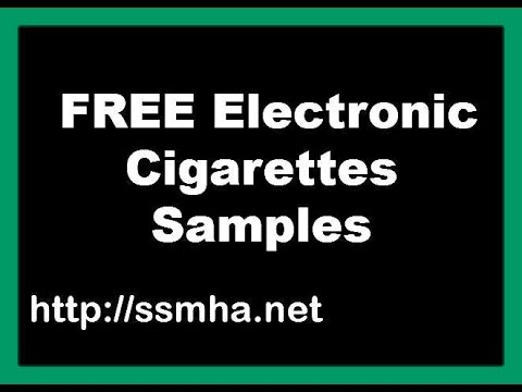 free electronic cigarette sample free shipping-free ecig offer