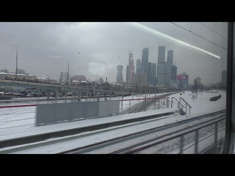От ст. Москва-Смоленская до ст. Одинцово на ЭД4М-0500 ЦППК РЭКС