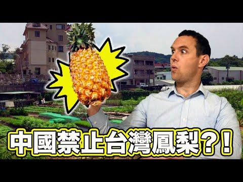 中國禁止台灣鳳梨?!TAIWAN, CHINA and PINEAPPLES! Why is China Banning Pineapple Imports from Taiwan?