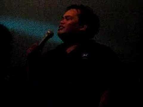 """""""Filipino"""" Electric Slide at Karaoke"""