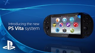 New PlayStation Vita Announcement Video