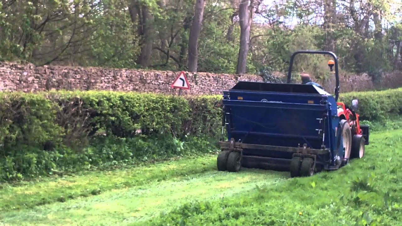 how to cut a field of grass