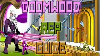 AQW How to Get Doomwood Rep FAST