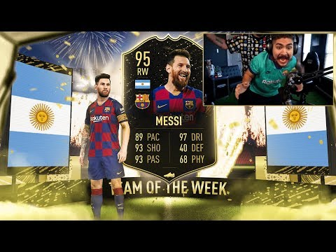 OMG WE PACKED IF MESSI!! NO WAY!! FIFA 20