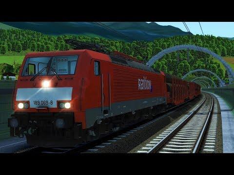 BR189   Brenner - Kufstein   Brennerbahn   Unterinntalbahn   Inntal   Train Simulator 2017