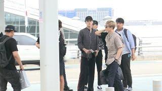 '엑소(EXO)' 쫓고 쫓기는 '미션 임파서블' 공항 출국