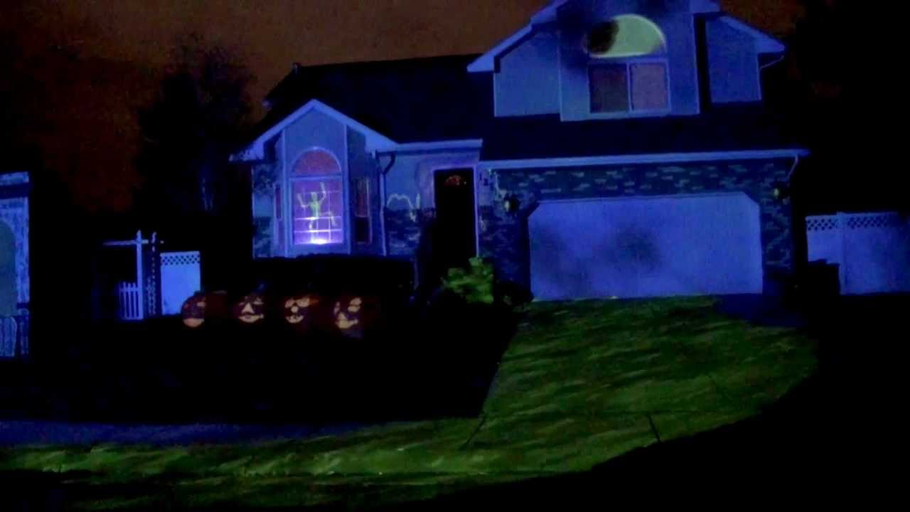 Bates Haunt Halloween 2011 Projection Mapping Show